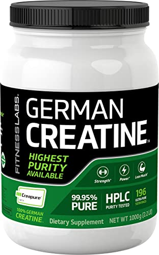 German Creatine 1000g Creapure Pure German Creatine Monhydrate from Germany Purest Creatine Available