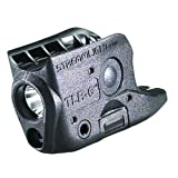 Streamlight 69270 TLR-6 Tactical Pistol Mount Flashlight 100 Lumen with Integrated Red Aiming Laser for Glock 42/43
