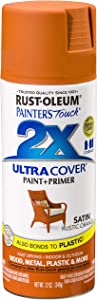 Rust-Oleum 314753-6 PK Painter's Touch 2X Ultra Cover, 12 oz, Rustic Orange