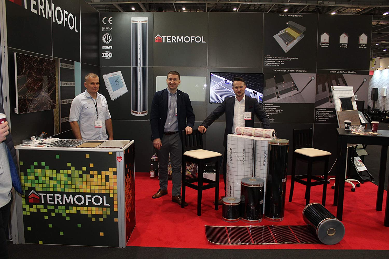 Far Infrared Panel Heating Film Underfloor Foil mat Kit Laminate Floor 220W//m/² 11m/²