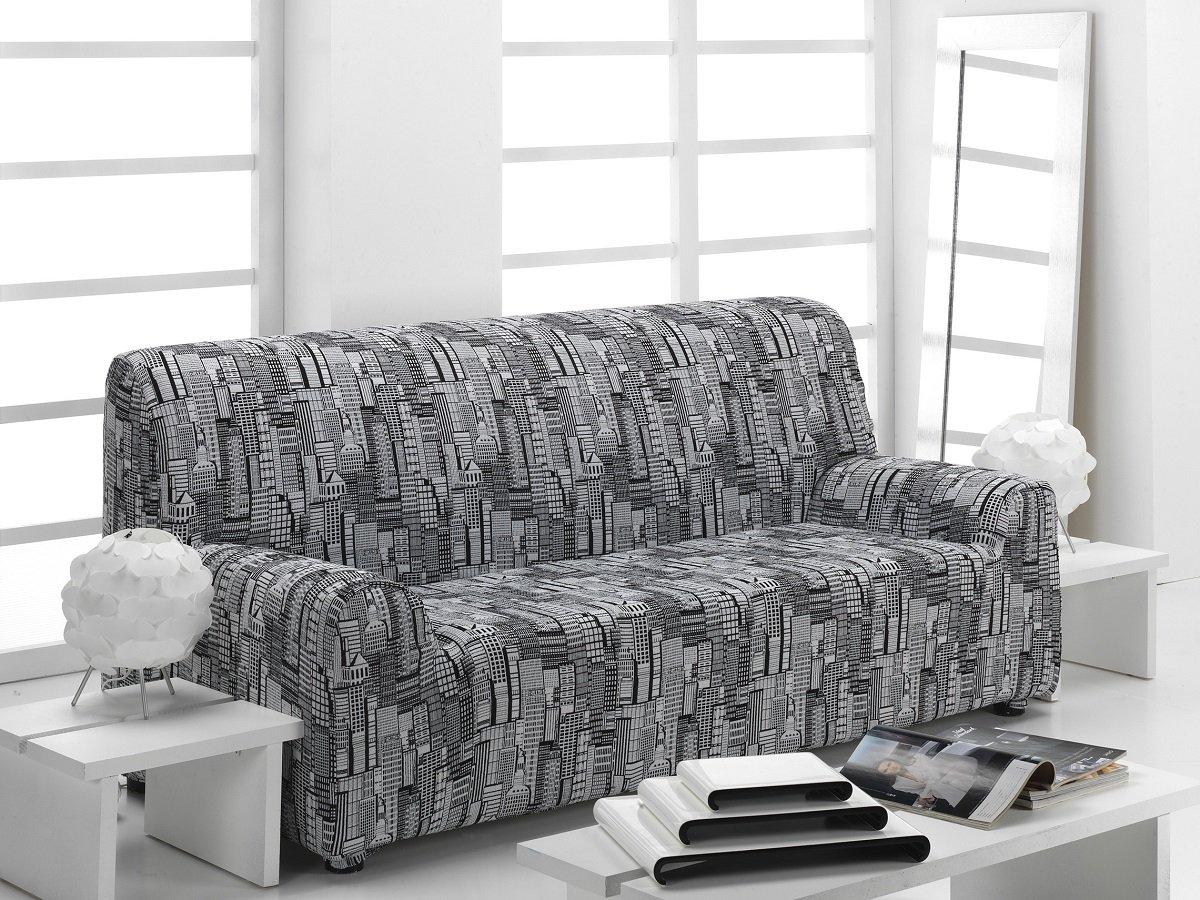textil-home Funda de Sofá Elástica Manhattan, 3 plazas (180 ...