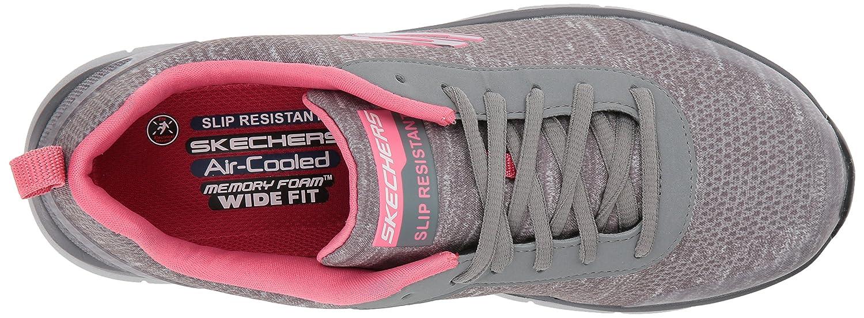 Skechers Women's Comfort Flex HC Pro SR Health Care Service Shoe B076MDKC5Z 10 W US|Gray/Pink
