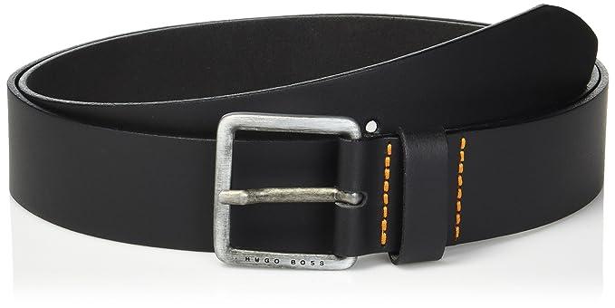 brand new new authentic on sale online Hugo Boss mens Jeeko Italian Leather Belt Belt