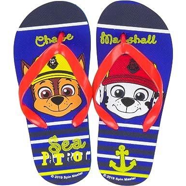 Pat Patrol Kinder Flip Flops Blau//Rot
