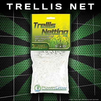 Garden Trellis Netting   5x15u0027 Or 5x30u0027   Heavy Duty Polyester Garden Net (