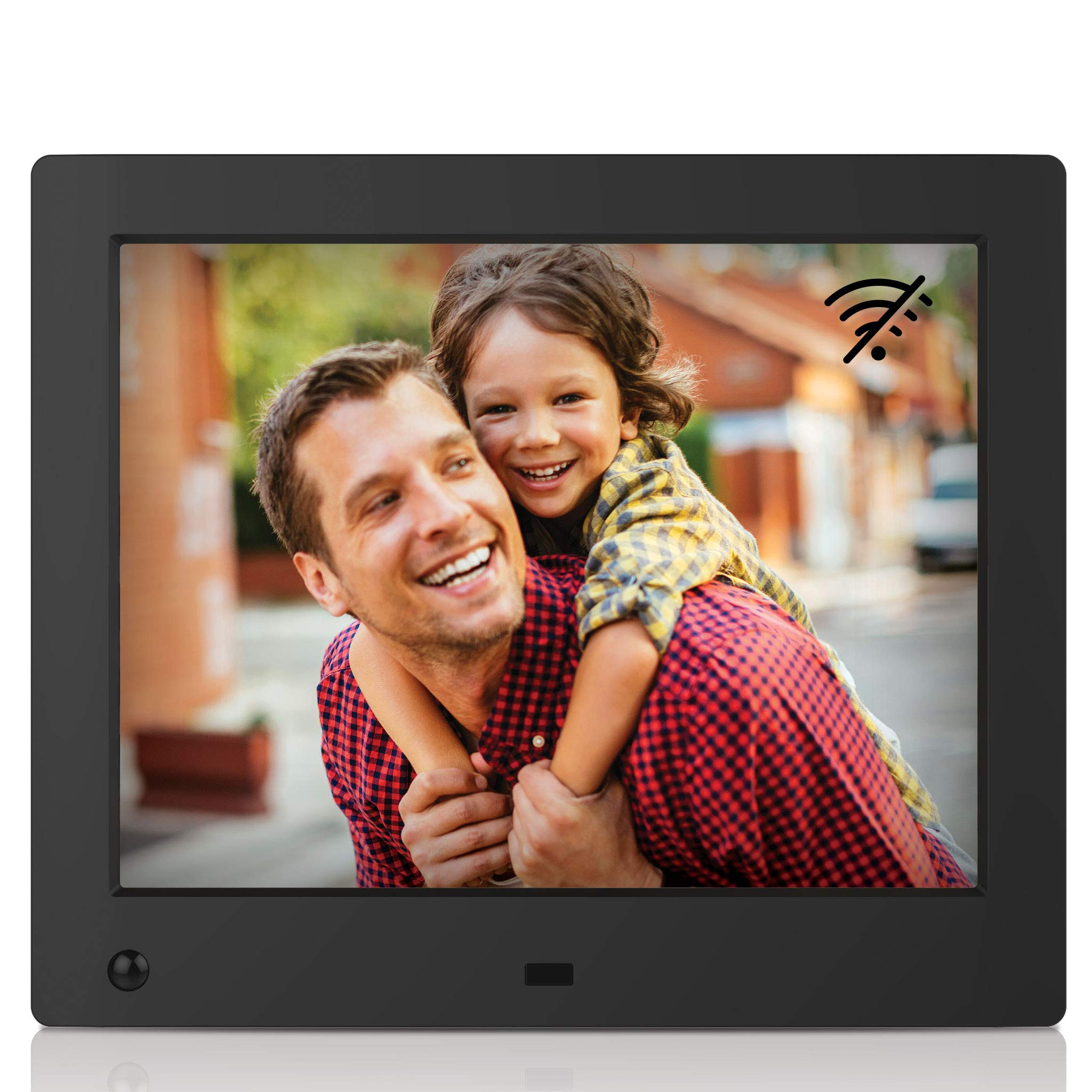 NIX Advance 8-Inch Digital Photo Frame X08E (Non-WiFi) - Digital Picture Frame with 1024x768 XGA IPS Display, Motion Sensor, Photo Auto-Rotate, USB and SD Card Slots and Remote Control by NIX