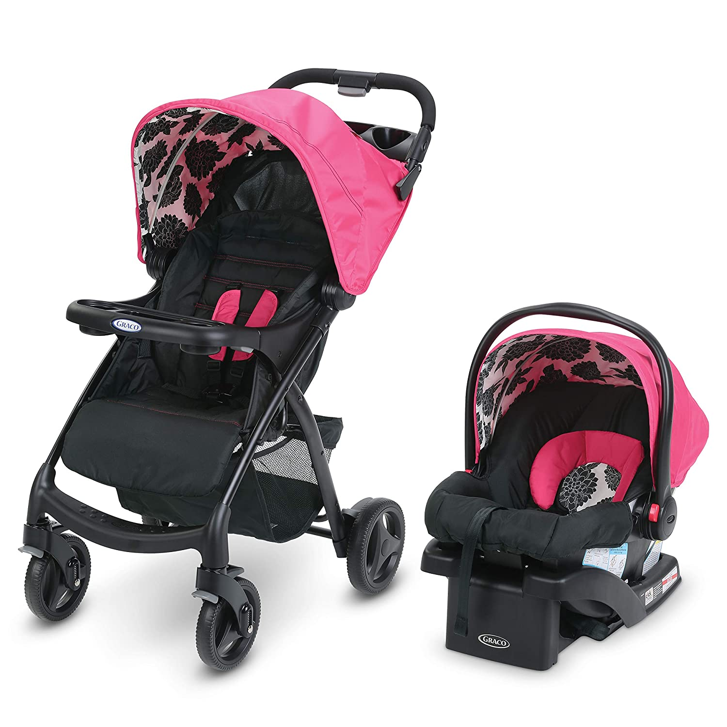 Amazon Com Graco Verb Travel System Includes Verb Stroller And