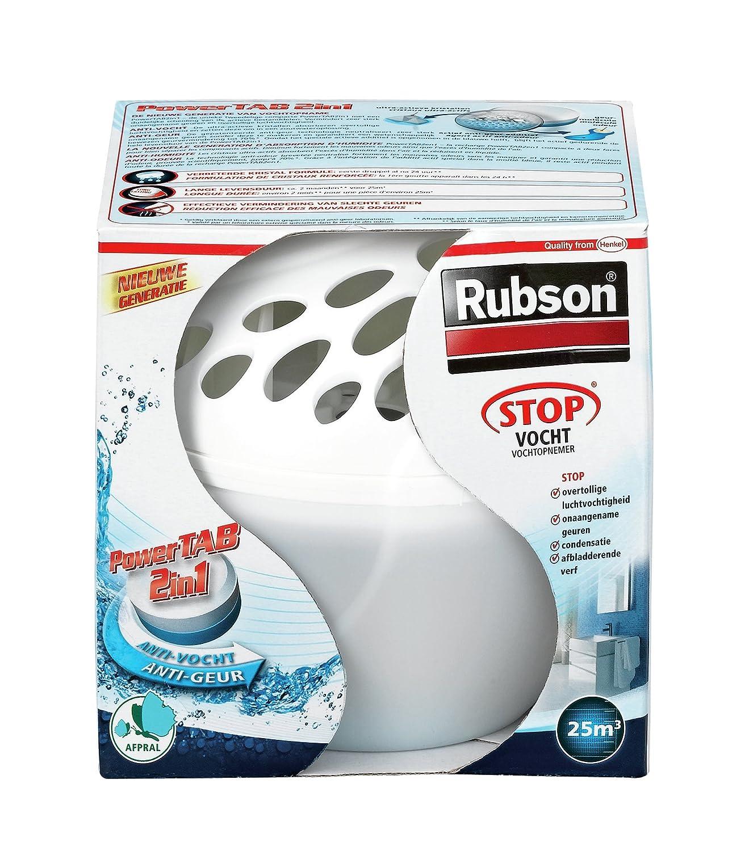 Rubson 5410091689735 1.2L Color blanco - Deshumidificador (300 g)