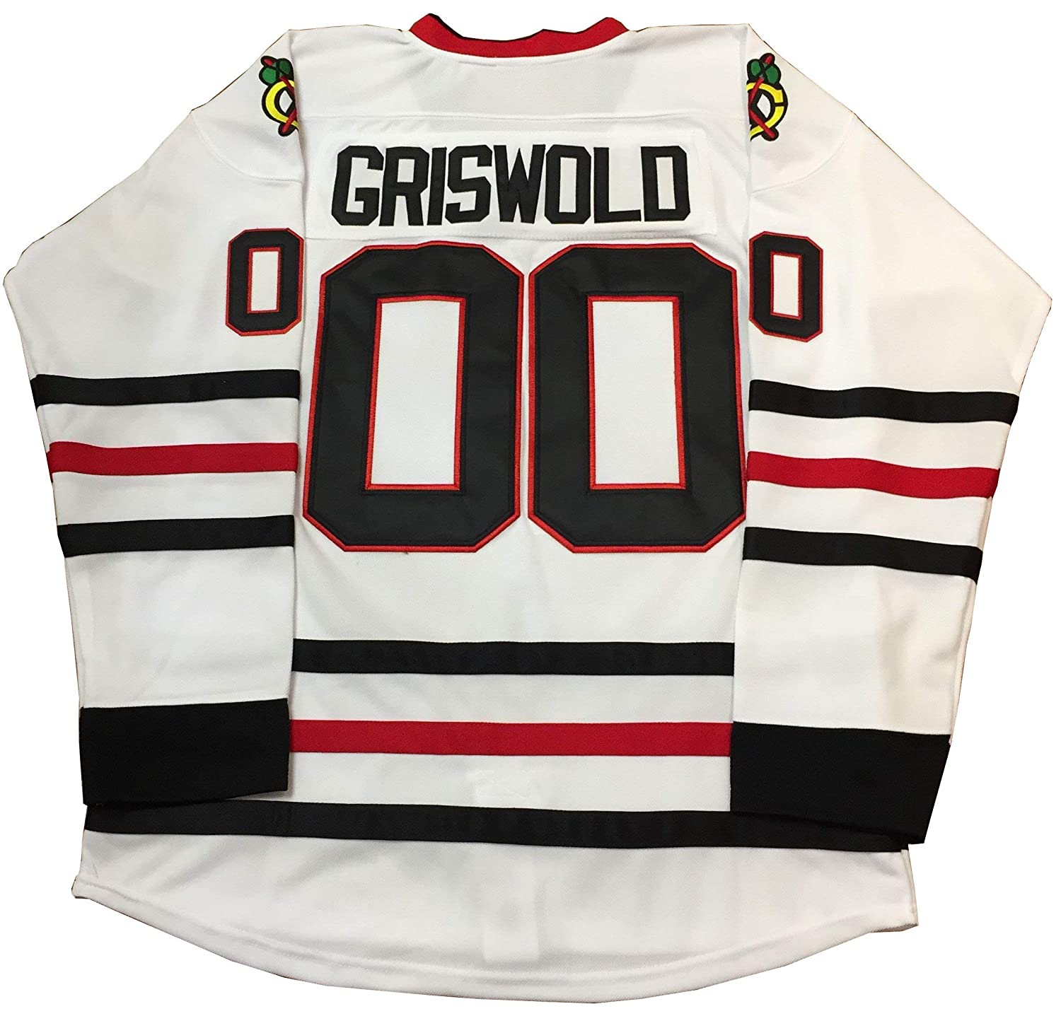Mens USA Clark Griswold 00 Christmas Vacation ICE Movie Hockey Jersey Stitched S-3XL