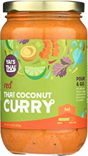 product image for Yai's Thai Red Coconut Curry Sauce 16 Ounce Jar
