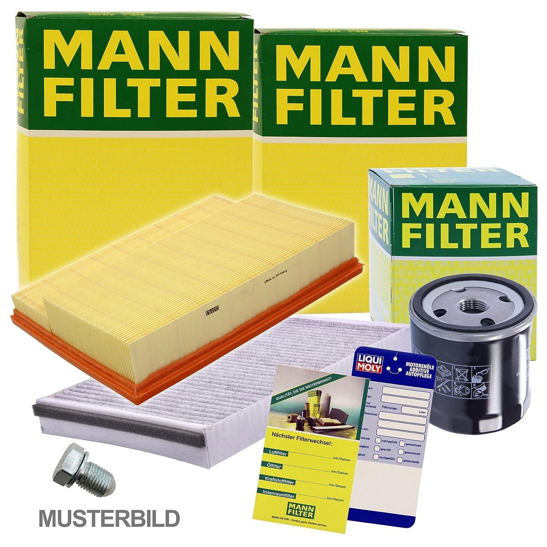 1x MANN-FILTER Inspektionspaket Filtersatz SET A