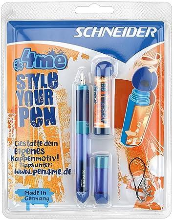 Schneider Füllhalter 4me Füller für Rechtshänder