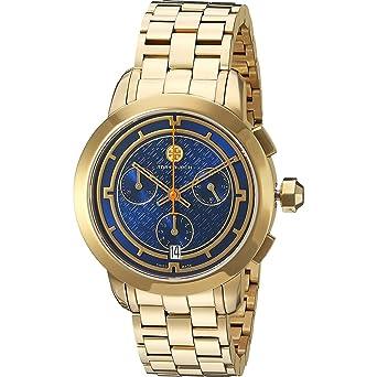 6ead15870d0 Amazon.com  Tory Burch Women s Tory - TRB1013 Gold Watch  Watches
