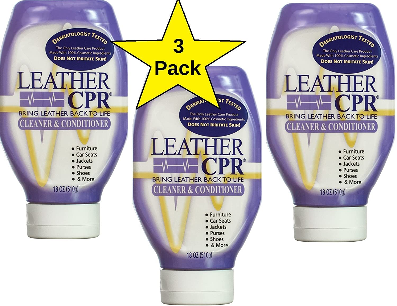 Leather jacket cleaner and conditioner - Only Leather Cleaner Conditioner That Is Dermatologist Tested Made In Usa Kitchen Dining