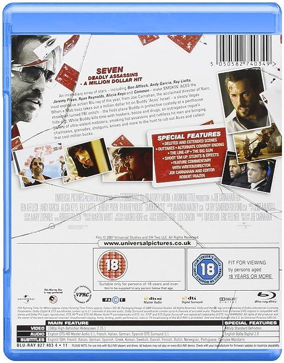 Smokin Aces: Amazon ca: Ryan Reynolds, Joe Carnahan: DVD