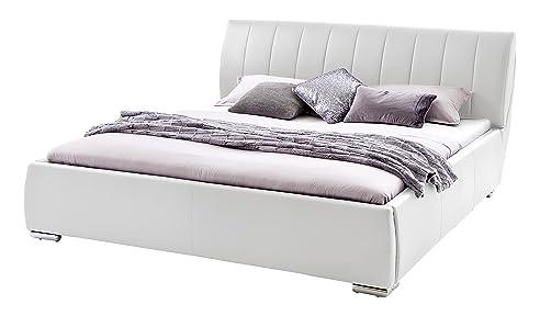 bett 180x200 bettkasten best sette notti polsterbett bett x wei bett mit bettkasten bett mit. Black Bedroom Furniture Sets. Home Design Ideas