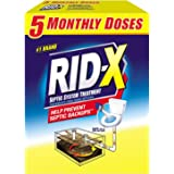 Rid-X Septic System Treatment 5-Monthly Doses, 49 oz.