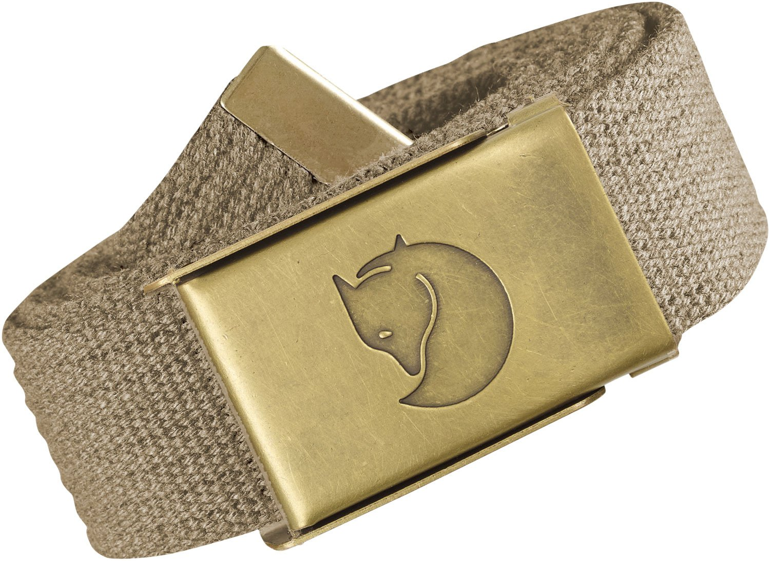 Fjällräven Canvas Brass Belt 3cm - Hosengürtel
