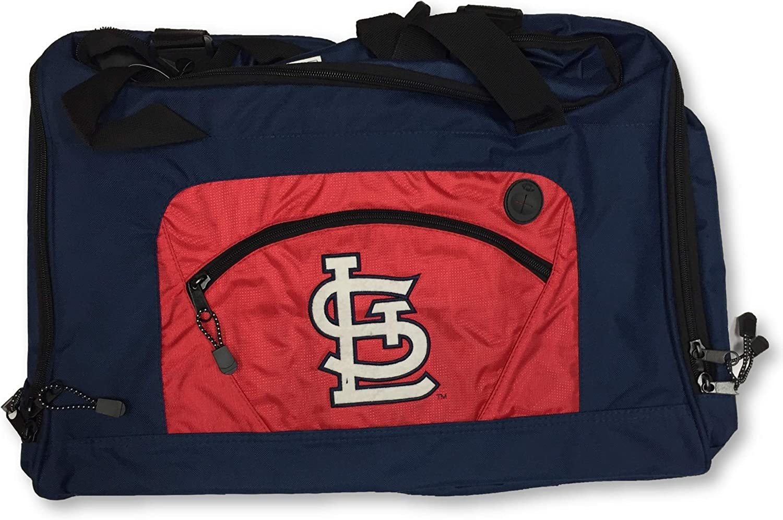 Louis Cardinals Roadblock Duffle Bag Blue Concept One MLB St
