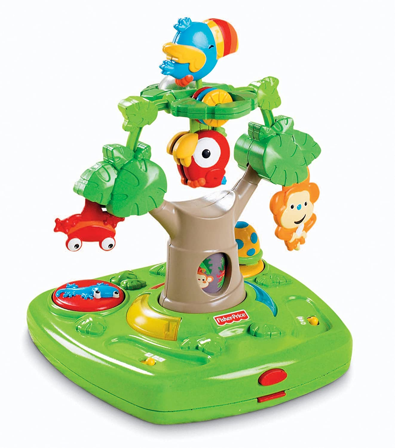 Amazon Fisher Price Rainforest Healthy Care High Chair