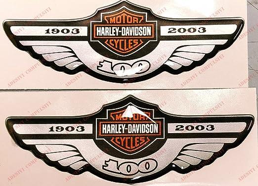 Harley Davidson Aufkleber Hundertjahriges Bestehen 1903 2003