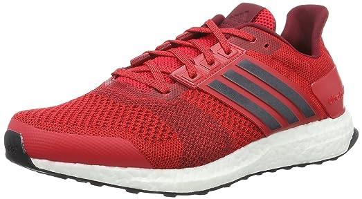 2aca4ca1e ... wholesale adidas performance mens ultra boost st running shoe ray red collegiate  navy collegiate burgundy 68dab
