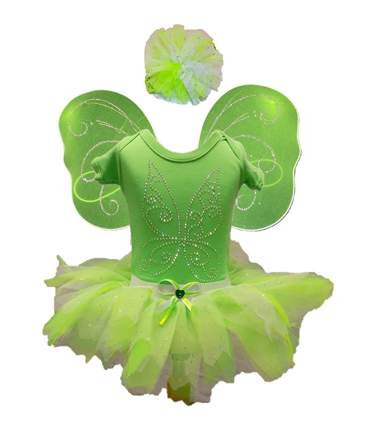 Tinkerbell Fairy Fancy Dress Costume Sparkle Bling Romany Baby Toddler Girls (0-3 months) Amazon.co.uk Clothing  sc 1 st  Amazon UK : tinkerbell costumes for babies  - Germanpascual.Com
