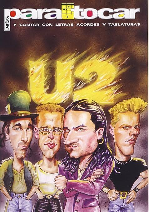 U2 - Cancionero (Letras y Acordes) para Guitarra: Amazon.es ...