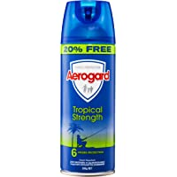Aerogard Tropical Strength Insect Repellent Aerosol Spray, 300g
