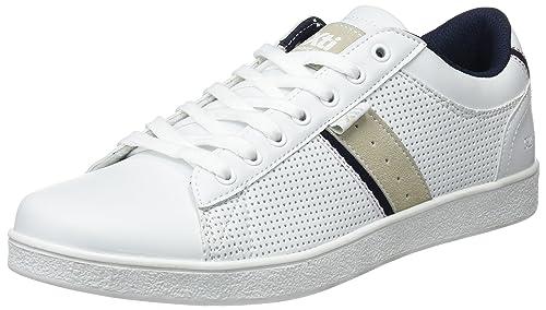 XTI 48029, Scarpe da Ginnastica Basse Uomo, Bianco (White), 43 EU