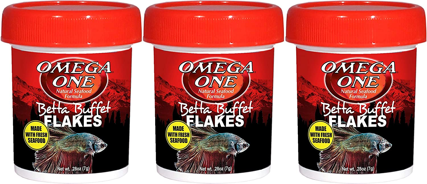 Omega One Betta Buffet Flakes 0.28oz