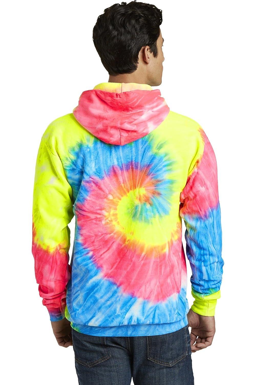 Port /& Company Tie-Dye Pullover Hooded Sweatshirt PC146