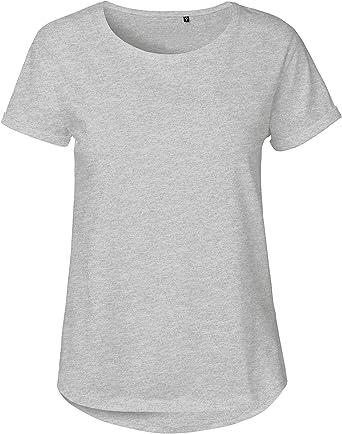 Green Cat - Camiseta de manga corta para mujer (100% algodón ...