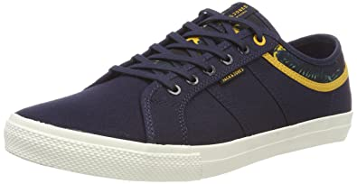JACK & JONES Herren Jfwseb Navy Blazer Slip on Sneaker, Blau (Navy Blazer Navy Blazer), 42 EU