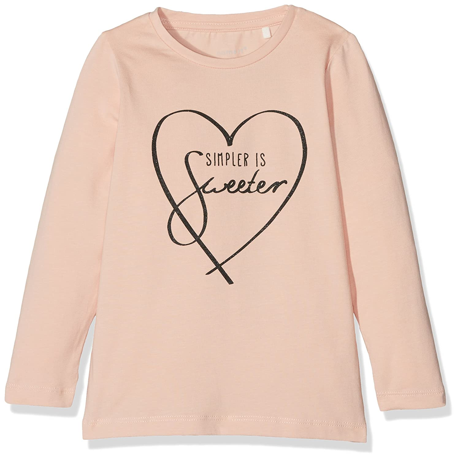 NAME IT Baby-Mädchen Langarmshirt Nitdikana LS Top F Mini 13144417