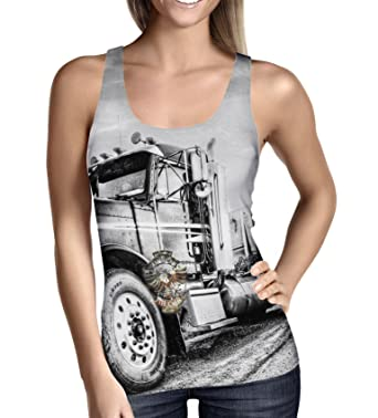 American Trucker Ladies Tank Top - XS