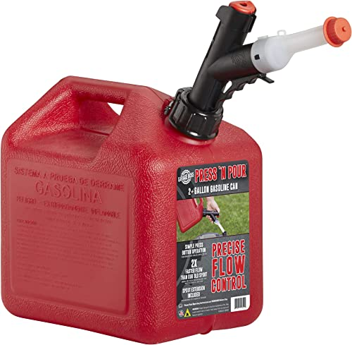 GARAGE BOSS GB320 Briggs and Stratton Press 'N Pour Gas Can