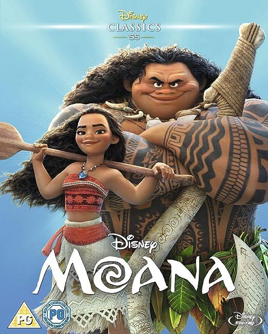 Amazon com: Moana [Blu-ray] [2016]: Movies & TV