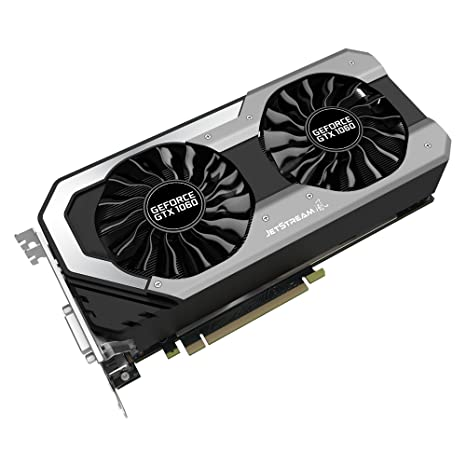 Palit NE51060S15J9-1060J - Tarjeta Grafica GeForce GTX 1060, Color Negro