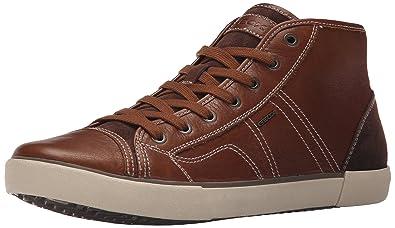 Mens Geox U Smart 11 Sneakers Whisky/Black JZO61653