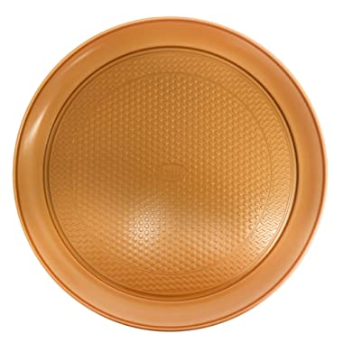 """Gotham Steel 14"""" Perfect Pizza Tray – with Premium Nonstick Copper Coating – PTFE/PFOA Free, Dishwasher & Oven Safe to 500°"""