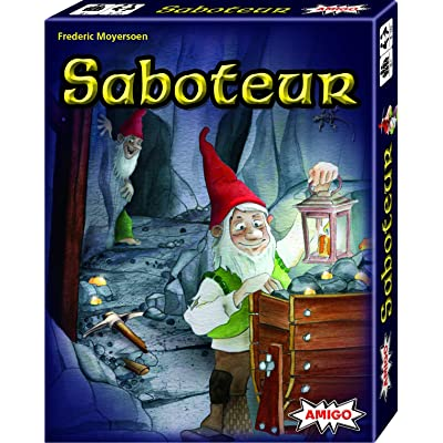 AMIGO Saboteur Card Game: Toys & Games