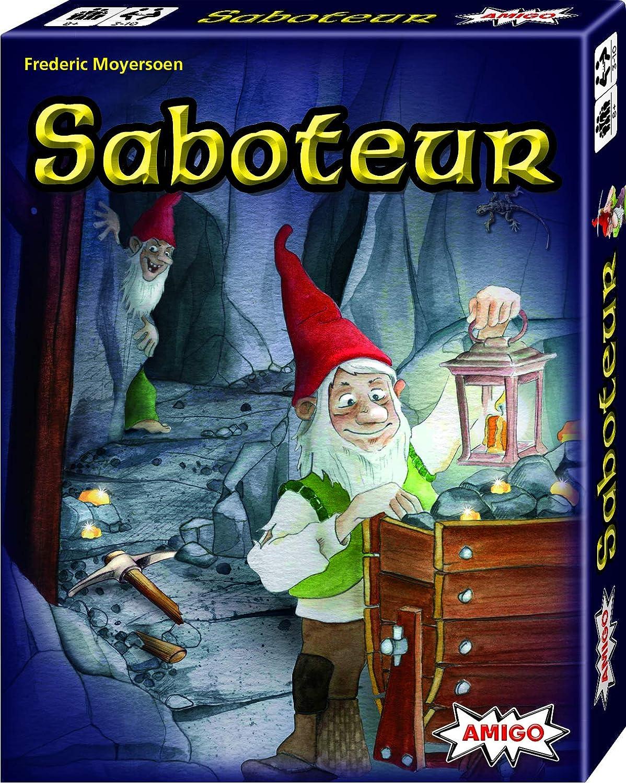 Amazon.com: AMIGO Saboteur Strategy Card Game: Toys & Games