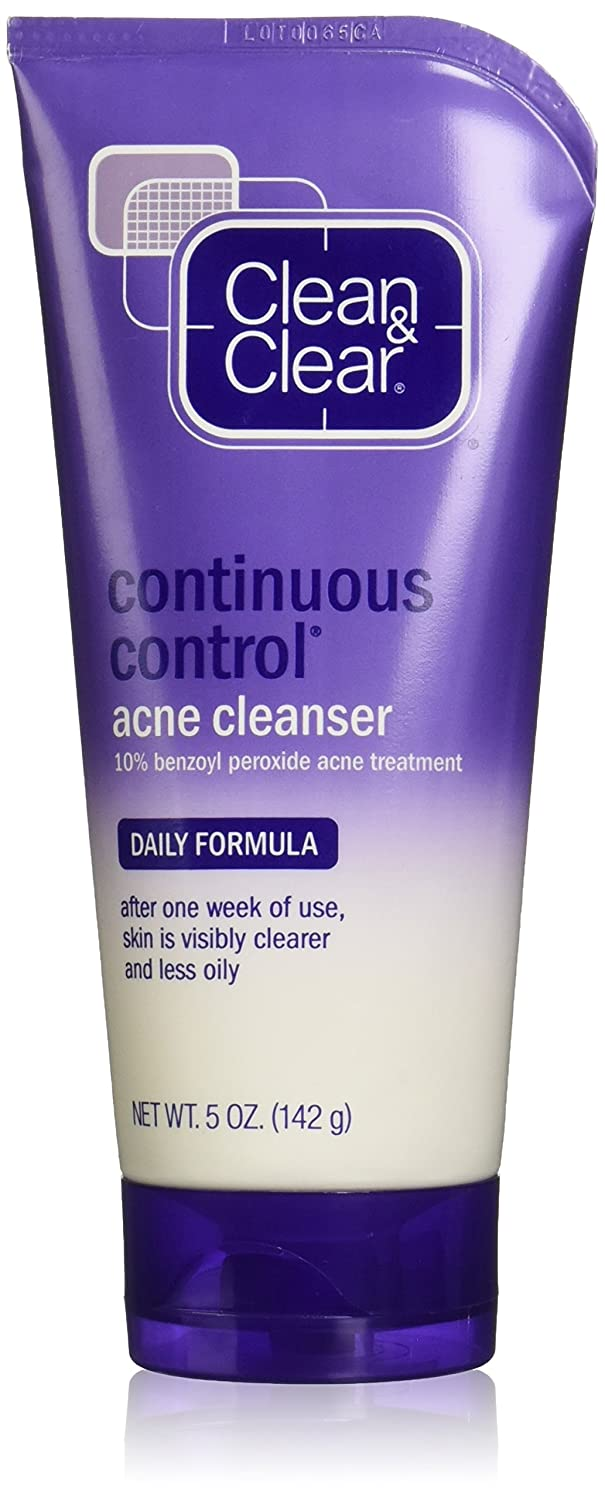 Clean & Clear 5 oz Daily Formula Continuous Control Acne Cleanser U-BB-1382