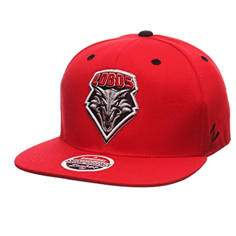 best service c8dd0 f64a1 Image Unavailable. Image not available for. Color  Zephyr Men s New Mexico  Lobos Z11 ZWOOL HAT ...