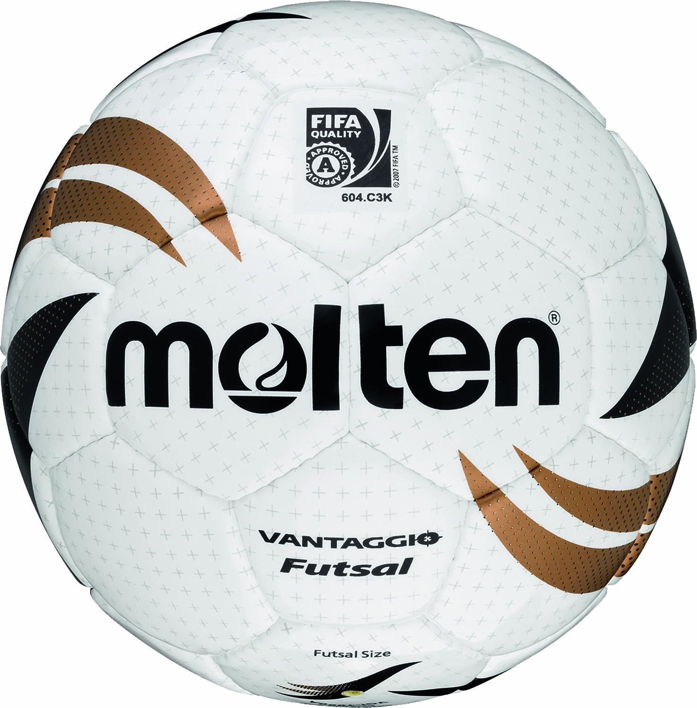 MOLTEN - Balón de fútbol, color blanco/dorado/negro: Amazon.es ...