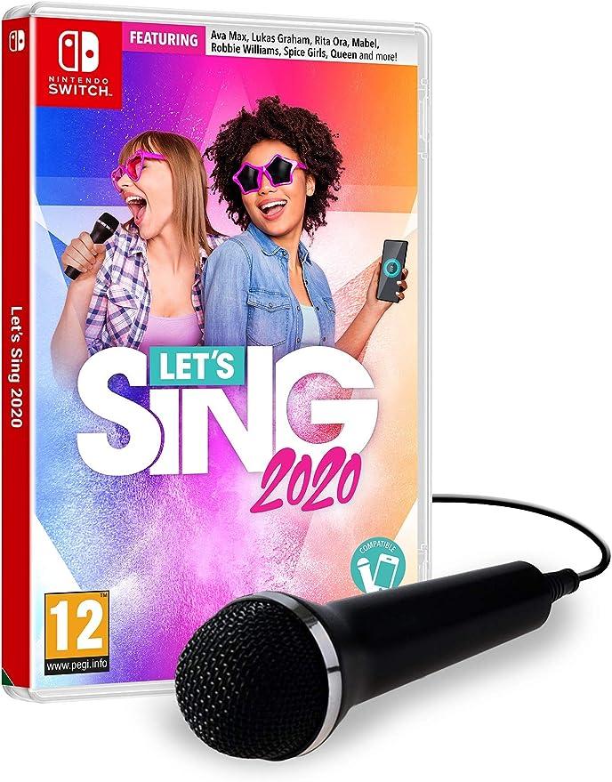 Lets Sing 2020 +1 Mic - Nintendo Switch [Importación inglesa]: Amazon.es: Videojuegos