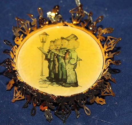 Amazon.com: Hummel Gold Christmas Ornament Collection - The Quartet ...