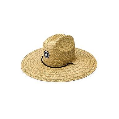 8eda58b7582 Amazon.com  Volcom Men s Quarter Straw Hat  Clothing