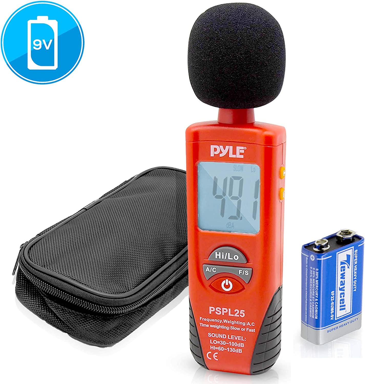 Pyle Digital Handheld Sound Level Meter
